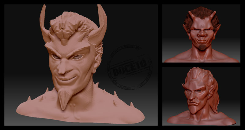 Post thumbnail of VERSIONARIOS – La sonrisa del Diablo (Zbrush)