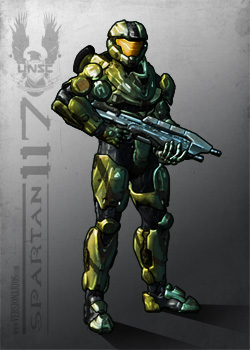 "Post thumbnail of VERSIONARIOS – John-117 ""Master Chief"" (Halo)"