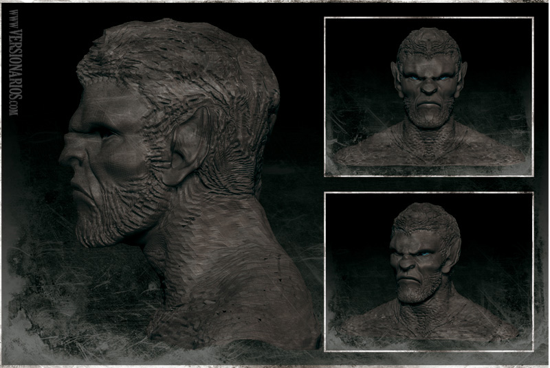 Post thumbnail of VERSIONARIOS – Aullidos (Zbrush)