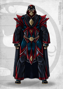Post thumbnail of VERSIONARIOS – Grandmaster Lin Kuei (Concept)