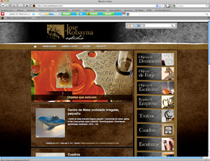 "Post thumbnail of DISEÑO – Nueva web ""Jose Robayna Estudio"""