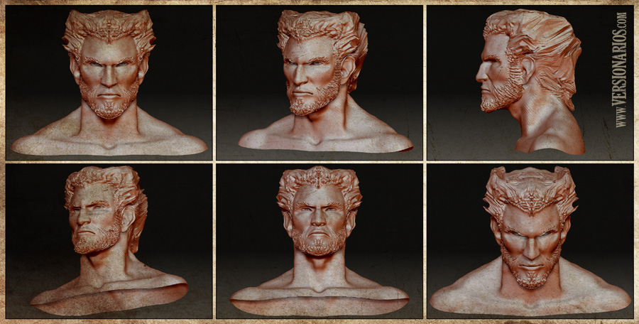 Post thumbnail of VERSIONARIOS – Logan (Zbrush)